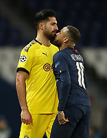 Soccer Football - Champions League - Round of 16 Second Leg - Paris St Germain v Borussia Dortmund - Parc des Princes, Paris, France - March 11, 2020  Borussia Dortmund's Emre Can clashes with Paris St Germain's Neymar and was subsequently shown a red card by referee Anthony Taylor   <br /> Photo Pool/Panoramic/Insidefoto
