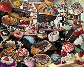 Lori, STILL LIFE STILLEBEN, NATURALEZA MORTA,cake,cakes, paintings+++++Dessert Puzzle_1,USLS169,#i#, EVERYDAY