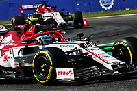 4th September 2020; Autodromo Nazionale Monza, Monza, Italy ; Formula 1 Grand Prix of Italy, free practise sessions;  99 Antonio Giovinazzi ITA, Alfa Romeo Racing ORLEN