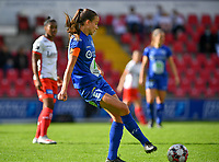 Gent's Silke Vanwynsberghe (21)  pictured during a female soccer game between Zulte Waregem and the KAA Gent Ladies on the fourth matchday of the 2020 - 2021 season of Belgian Scooore Womens Super League , saturday 10 October 2020  in Waregem , Belgium . PHOTO SPORTPIX.BE | SPP | DAVID CATRY