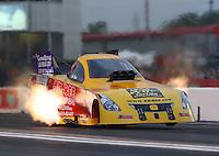 Apr 29, 2016; Baytown, TX, USA; NHRA funny car driver Bob Bode during qualifying for the Spring Nationals at Royal Purple Raceway. Mandatory Credit: Mark J. Rebilas-USA TODAY Sports