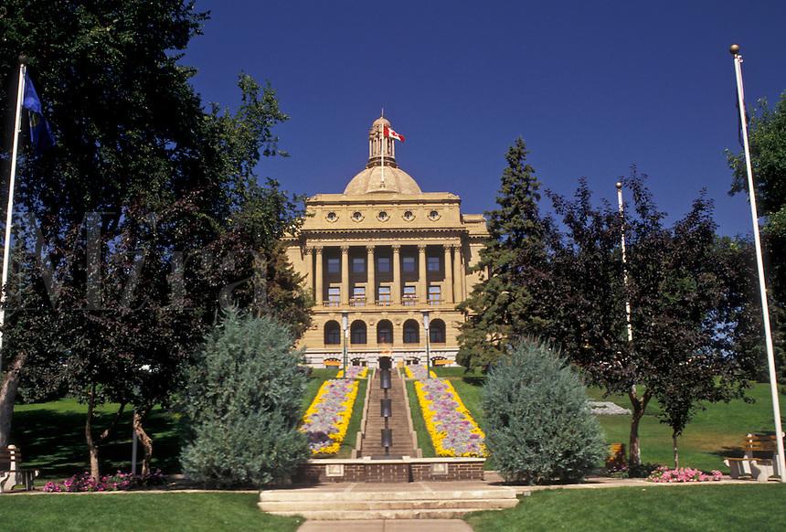 AJ3628, Edmonton, Alberta, Legislature Building, Canada, Alberta Legislature Building in Edmonton the capital city of the province of Alberta.