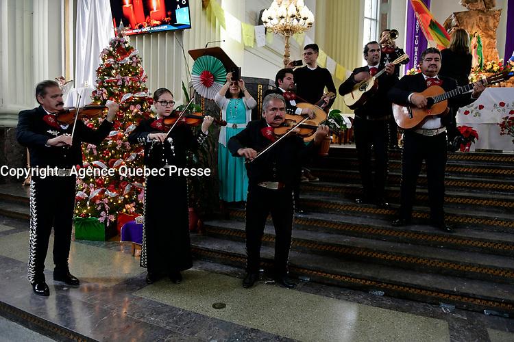 eglise Notre-Dame de la Guadeloupe<br /> <br /> <br /> PHOTO : Agence Quebec Presse