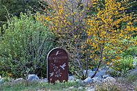 Hummingbird Hill, California native plant display garden at Southern California Montane Botanic Garden
