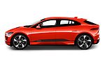 Car driver side profile view of a 2019 Jaguar I Pace S 5 Door SUV
