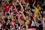 Liverpool FC fans celebrate their team scoring during the Premier League Asia Trophy match between Liverpool FC and Crystal Palace FC at Hong Kong Stadium on 19 July 2017, in Hong Kong, China. Photo by Yu Chun Christopher Wong / Power Sport Images