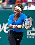 Serena Williams at the Family Circle Cup in Charleston, South Carolina on April 6, 2012