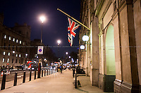22.03.2016 - UK Flags Flies At Half-Mast For Brussels & The Belgium Embassy