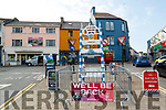 An empty square in Killorglin during Puck Fair on Tuesday