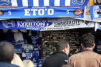 Liverpool, UK. Saturday 01 November 2014<br /> Pictured: <br /> Re: Premier League Everton v Swansea City FC at Goodison Park, Liverpool, Merseyside, UK.