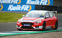 30th August 2020; Knockhill Racing Circuit, Fife, Scotland; Kwik Fit British Touring Car Championship, Knockhill, Race Day; Rory Butcher leads the race during round 12 of the BTCC