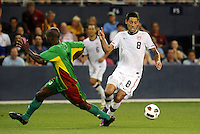 Clint Dempsey (8) USMNT,..USA defeated Guadeloupe 1-0 in Gold Cup play at LIVESTRONG Sporting Park, Kansas City, Kansas.