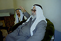 Iraq 2003  In Sheikhan, Mir Tahseen  Said Beg , prince of the Yezidis, giving an interview <br />Irak 2003  A sheikhan, Tahseen Said ali Beg, prince des Yezidis, pendant une interview
