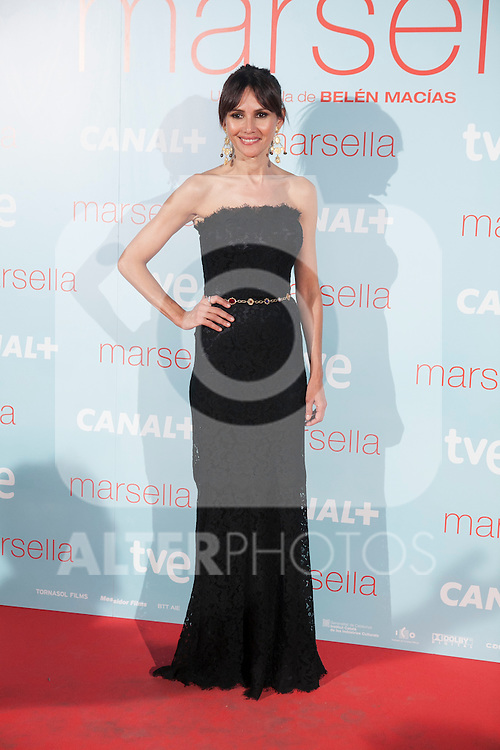 Spanish actress Goya Toledo poses at `Marsella´ film premiere photocall at Capital cinema in Madrid, Spain. July 17, 2014. (ALTERPHOTOS/Victor Blanco)