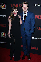 """HOLLYWOOD, LOS ANGELES, CA, USA - MARCH 20: Christa B. Allen, Gabriel Mann at the Los Angeles Premiere Of Pantelion Films And Participant Media's """"Cesar Chavez"""" held at TCL Chinese Theatre on March 20, 2014 in Hollywood, Los Angeles, California, United States. (Photo by David Acosta/Celebrity Monitor)"""