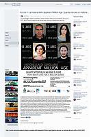 AMA-Apparent Million Age.<br /> Mostra fotografica sulla percezione del valore dei numeri, usando calcoli matematici umanizzati.<br /> http://www.abruzzoinvideo.tv/blog/La-mostra-AMA-Apparent-Million-Age-Quante-vite-per-un-milione-di-euro-al-FLA-2015/3425