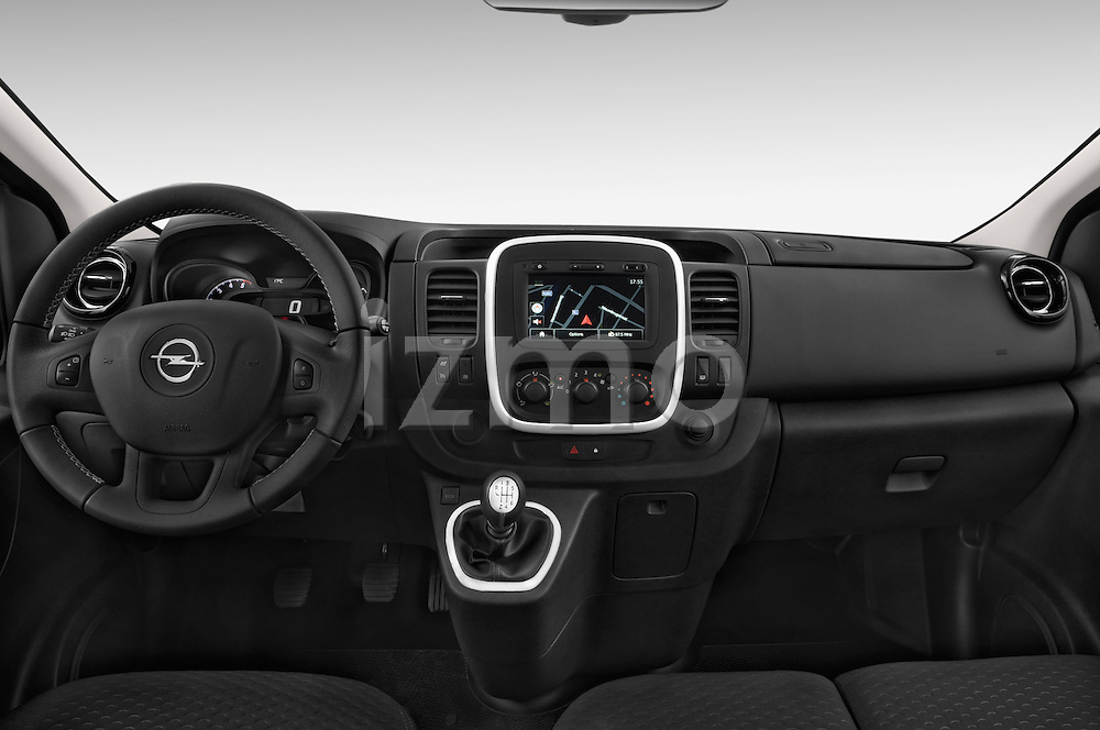 Straight dashboard view of 2015 Opel Vivaro Sportive 4 Door Combi 2WD