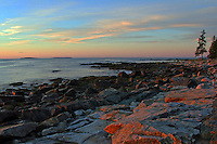 Seawall Sunrise, Acadia  #S2