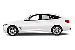 Car Driver side profile view of a 2015 BMW 3 Series M Sport 5 Door Hatchback 2WD Side View