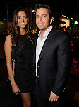 Karen Russell and Scott McCammon at day three of  Fashion Houston 5 at the Wortham Theater Thursday Nov. 20, 2014.(Dave Rossman photo)