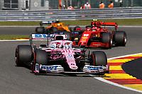 30th August 2020, Spa Francorhamps, Belgium, F1 Grand Prix of Belgium , Race Day;  11 Sergio Perez MEX, BWT Racing Point F1 Team