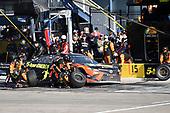 Monster Energy NASCAR Cup Series<br /> Pennzoil 400<br /> Las Vegas Motor Speedway, Las Vegas, NV USA<br /> Sunday 4 March 2018<br /> Martin Truex Jr., Furniture Row Racing, Toyota Camry Bass Pro Shops/5-hour ENERGY, makes a pit stop<br /> World Copyright: John K Harrelson<br /> NKP / LAT Images
