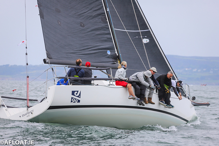 The new J/99 'Snapshot' of Mike and Ritchie Evans from Howth Sailing and Boating Club