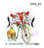 Fabrizio, Comics, CHRISTMAS SANTA, SNOWMAN, paintings, ITFZ05,#x# stickers Weihnachten, Navidad, illustrations, pinturas