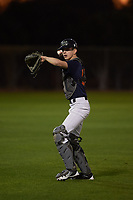 Stephen Trujillo (52), from North Pole, Alaska, while playing for the Astros during the Under Armour Baseball Factory Recruiting Classic at Gene Autry Park on December 27, 2017 in Mesa, Arizona. (Zachary Lucy/Four Seam Images)