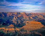 South Rim at sunset,Grand Canyon National Park, Arizona .  John offers private photo tours in Grand Canyon National Park and throughout Arizona, Utah and Colorado. Year-round.