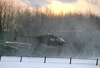 - US Army helicopter OH 58D during NATO exercises in Germany....- elicottero OH 58D dell'US Army  durante esercitazioni NATO in Germania