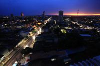 O dia amanhece após noite de chuvas torrenciais.<br /> Belém, Pará, Brasil.<br /> Foto Paulo Santos<br /> 25/01/2017