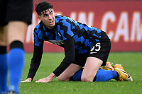 Alessandro Bastoni of FC Internazionale reacts during the Serie A football match between AS Roma and FC Internazionale at Olimpico stadium in Roma (Italy), January 10th, 2021. Photo Andrea Staccioli / Insidefoto