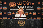 Opening Plenary Meeting of the Nelson Mandela Peace Summit<br /> <br /> His Excellency Joao Manuel Gongalves LOUREN OPresident of the Republic of Angola