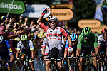 Caleb Ewan (AUS) Lotto-Soudal wins Stage 16 of the 2019 Tour de France running 177km from Nimes to Nimes, France. 23rd July 2019.<br /> Picture: ASO/Pauline Ballet   Cyclefile<br /> All photos usage must carry mandatory copyright credit (© Cyclefile   ASO/Pauline Ballet)