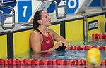 Wales Georgia Davies in action during the Womans 100m Backstroke final<br /> <br /> *This image must be credited to Ian Cook Sportingwales and can only be used in conjunction with this event only*<br /> <br /> 21st Commonwealth Games - Swimming - Day 3 - 07\04\2018 - Gold Coast Optus Aquatic centre - Gold Coast City - Australia