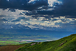 Mountain scenery outside Denizli during Stage 6 of the 2015 Presidential Tour of Turkey running 184km from Denizli to Selcuk. 1st May 2015.<br /> Photo: Tour of Turkey/Steve Thomas/www.newsfile.ie
