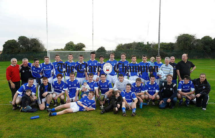 The Cratloe team who won the Intermediate final at Clarecastle. Photograph by John Kelly.