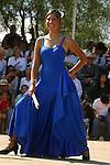 YOUNG WOMEN DANCES AT ANNUAL WINE FESTIVAL IN VALLE DE GUADALUPE NEAR ENSENADA MEXICO