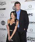 Nathan Fillion and Mikaela Hoover at The IFC Midnight L.A. Premiere of SUPER held at The Egyptian Theatre in Hollywood, California on March 21,2011                                                                               © 2010 Hollywood Press Agency