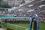 SHA TIN,HONG KONG-MAY 07: Starting gate at Sha Tin Racecourse on May 7,2017 in Sha Tin,New Territories,Hong Kong (Photo by Kaz Ishida/Eclipse Sportswire/Getty Images)