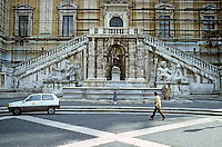 Italy: Rome--Senatorial Palace, detail, elevation. Photo '82.