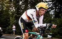 Tony Martin (DEU/Jumbo-Visma) on the steep parts of the individual time trial up the infamous Planche des Belles Filles<br /> <br /> Stage 20 (ITT) from Lure to La Planche des Belles Filles (36.2km)<br /> <br /> 107th Tour de France 2020 (2.UWT)<br /> (the 'postponed edition' held in september)<br /> <br /> ©kramon