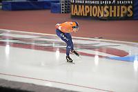SPEEDSKATING: 14-02-2020, Utah Olympic Oval, ISU World Single Distances Speed Skating Championship, 10.000m Men, Jorrit Bergsma (NED), ©Martin de Jong
