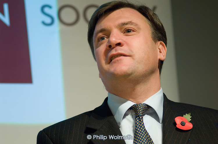 Ed Balls MP, Secretary of State for Children, Schools and Families, speaks at the Institute of Education, London, on raising the particiption age for full-time education.