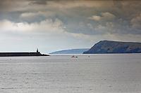 The port of Fishguard