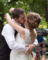 Paige & Brodie's wedding at Brady's Run Park in Beaver Falls on July 26, 2014