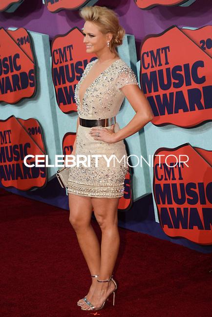 NASHVILLE, TN, USA - JUNE 04: Miranda Lambert at the 2014 CMT Music Awards held at the Bridgestone Arena on June 4, 2014 in Nashville, Tennessee, United States. (Photo by Celebrity Monitor)