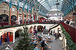 United Kingdom, England, London: view over Covent Garden Market at Christmas