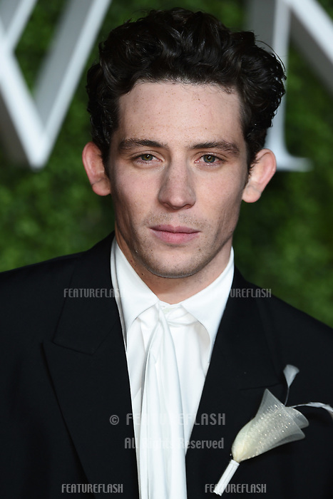 """LONDON, UK. November 13, 2019: Josh O'Connor arriving for """"The Crown"""" series 3 premiere at the Curzon Mayfair, London.<br /> Picture: Steve Vas/Featureflash"""
